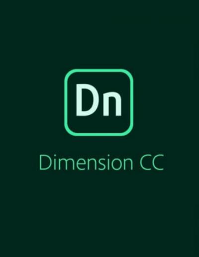 Adobe Dimension CC подписка на 12 месяцев