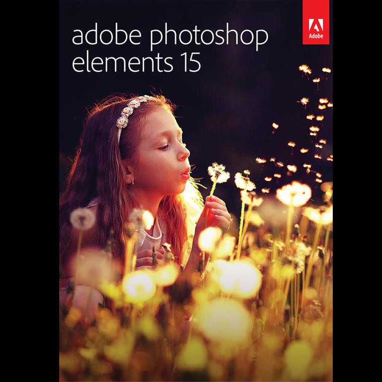 Adobe Photoshop Elements 18 для образования постоянная лицензия